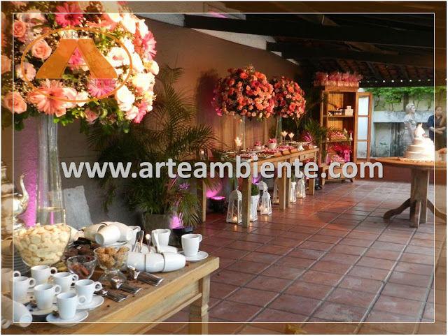 Clube Marapendi. Foto: Arte Ambiente Decorações