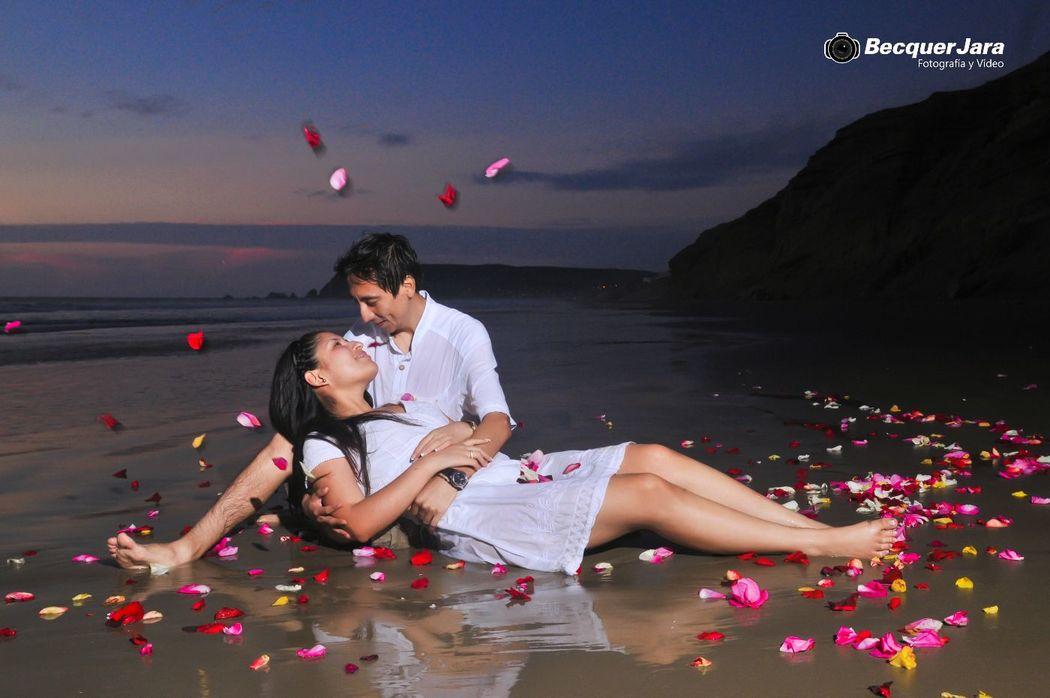 Pre Boda en playa Cangrejos - Piura