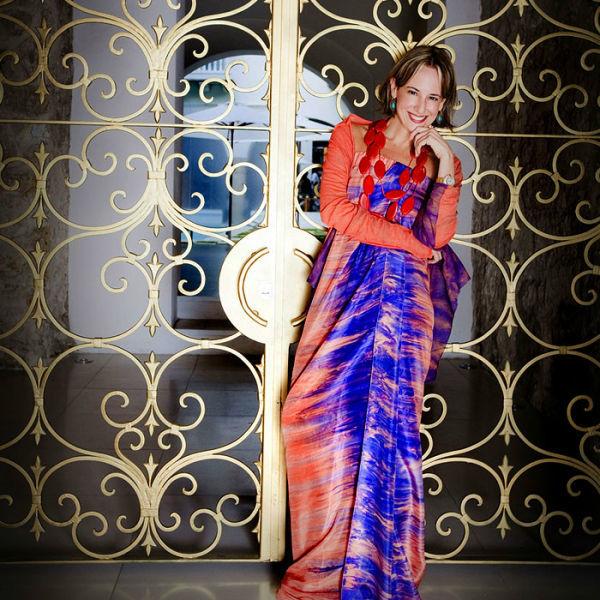La diseñadora Silvia Tcherassi