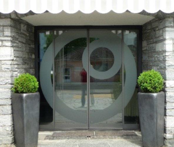 Beispiel: Eingang, Foto: Die Perle.