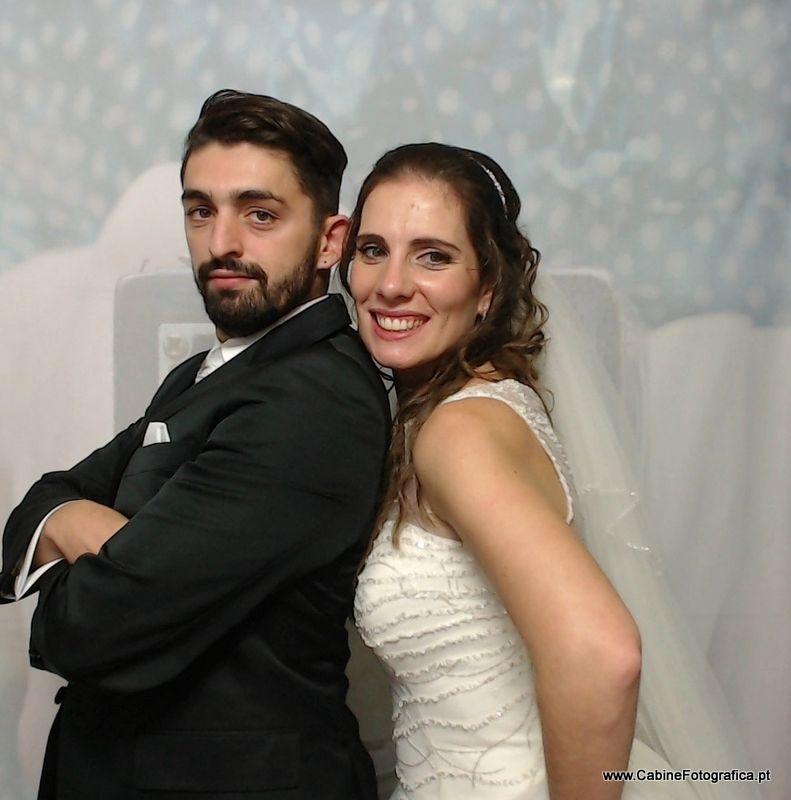 Foto do Interior da nossa Wedding Photobooth - Cabine Fotográfica Click e Leve