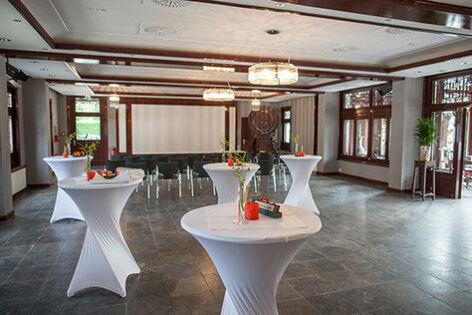 Beispiel: Saal Erdgeschoss, Foto: Chinesisches Teehaus Yu Garden.