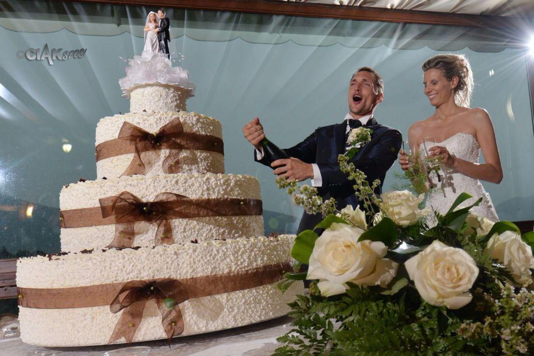 Torta nuziale Villa Pighet