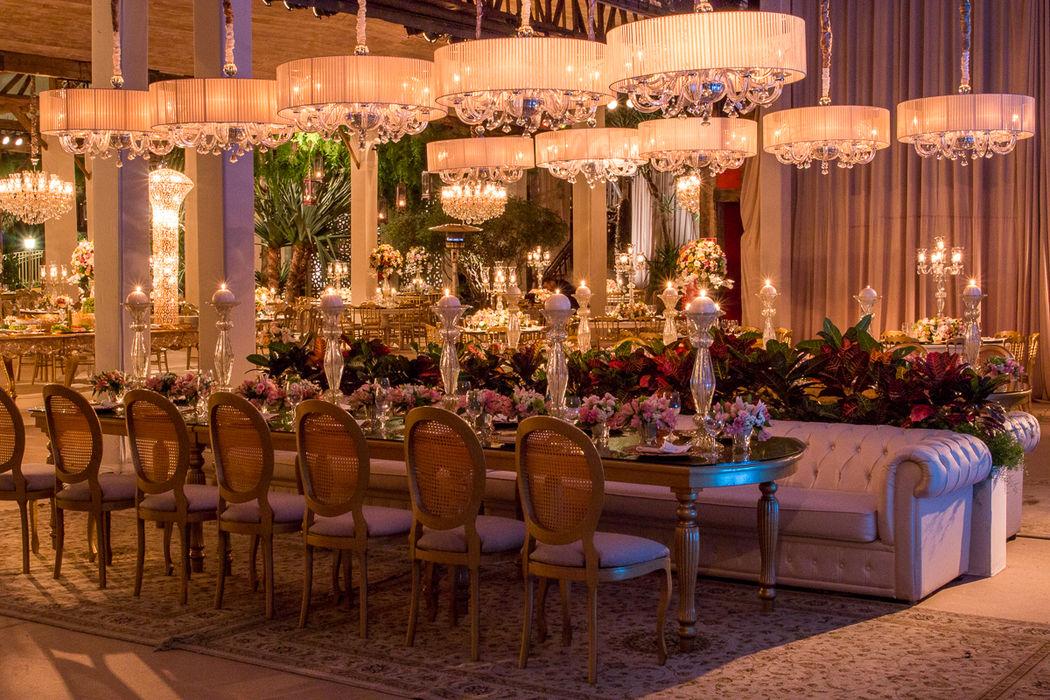 Lounges e Mesas de Convidados - Mix Garden