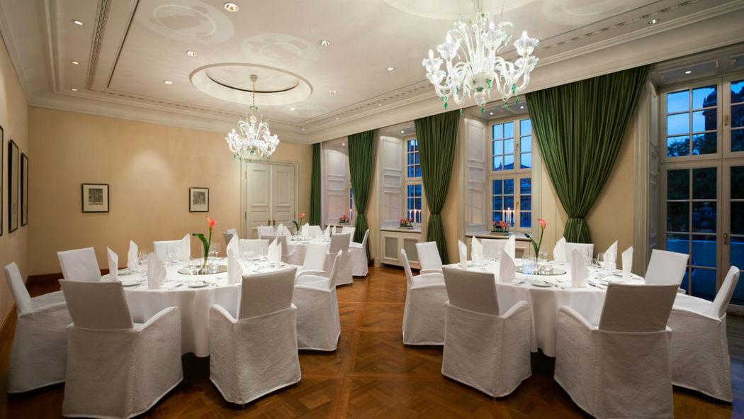 Beispiel: Bankett, Foto: Hotel Taschenbergpalais Kempinski.