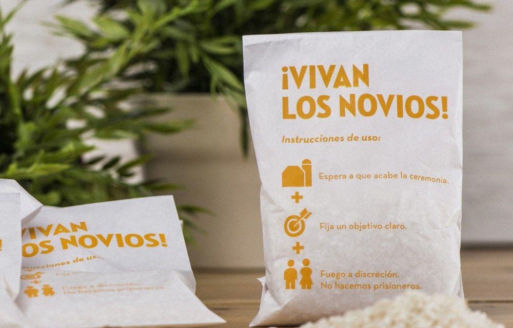 Bolsa para arroz