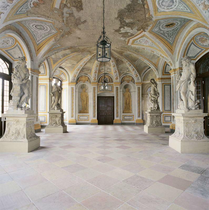 Beispiel: Gartensaal, Foto: Schloss Bruchsaal.