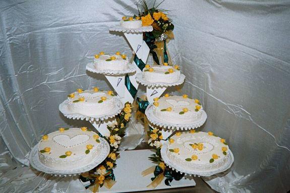 Beispiel: Hochzeitstorte, Foto: Confiserie Steinmann.