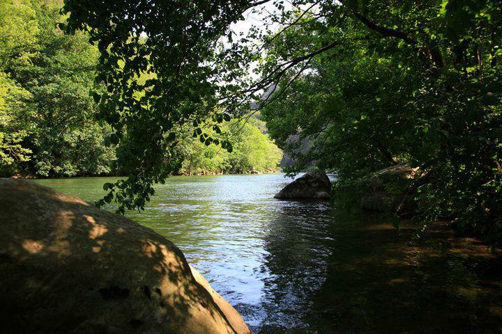 La Nive à 700m de l'Hôtel, baignades, cannyoning, rafting, pêche...tout est possible
