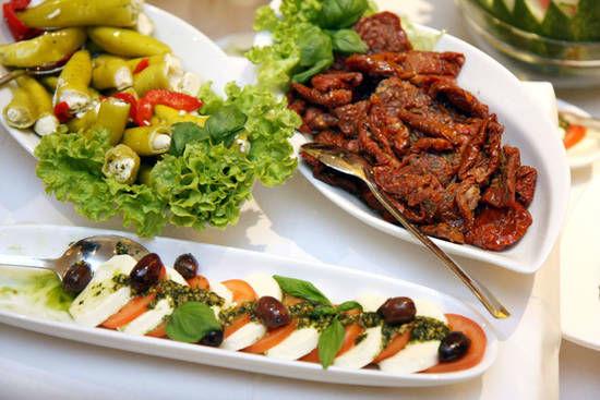 Beispiel: Erlesene Gerichte, Foto: Dwenger Catering & Events.