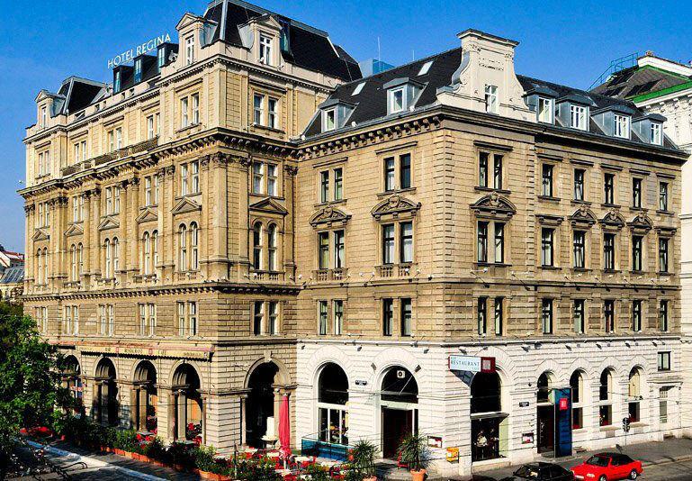 Beispiel: Außenansicht Hotel Regina, Foto: Hotel Regina.