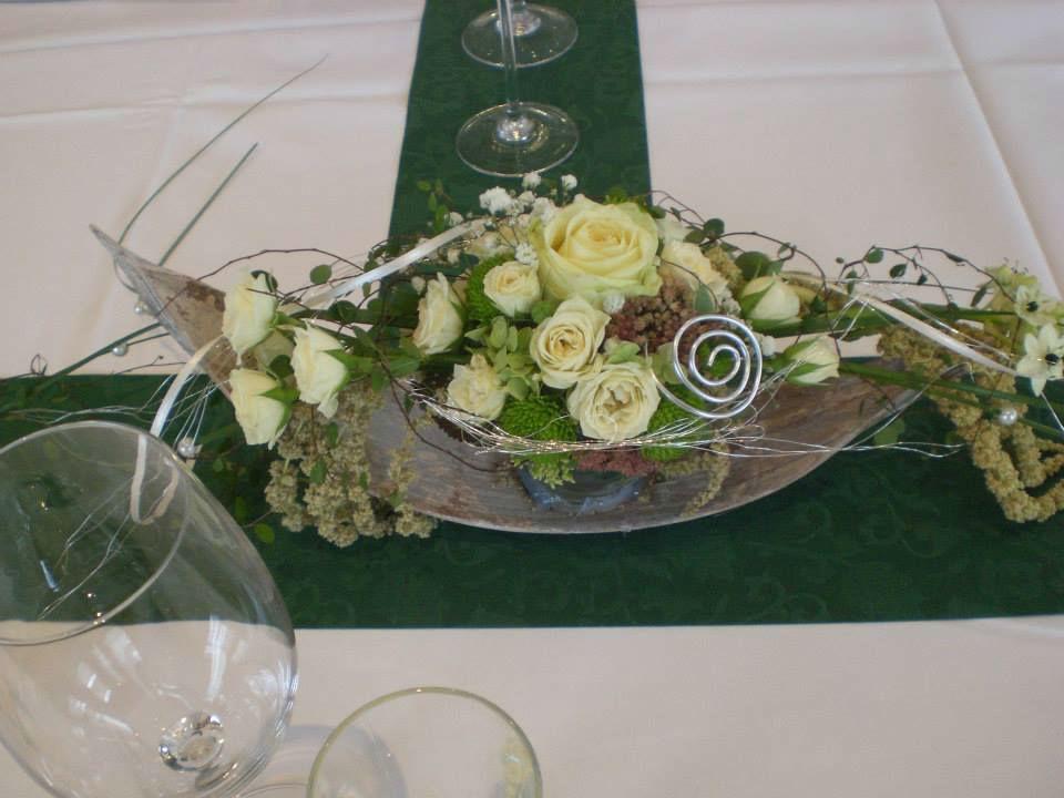 Beispiel: Kreative Blumenideen, Foto: Evis Blattwerk.