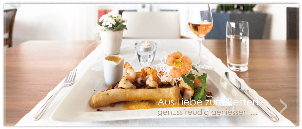Beispiel: Zuvorkommender Service und hervorragende Küche, Foto: Parkhotel Gunten.