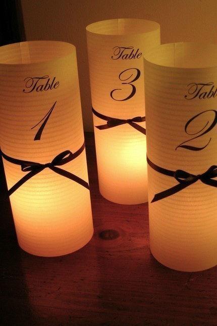 Beispiel: Kerzen, Foto: Event-Dreams.