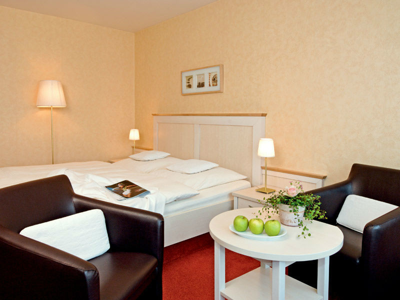 Beispiel: Zimmer, Foto: Hotel Dorn.