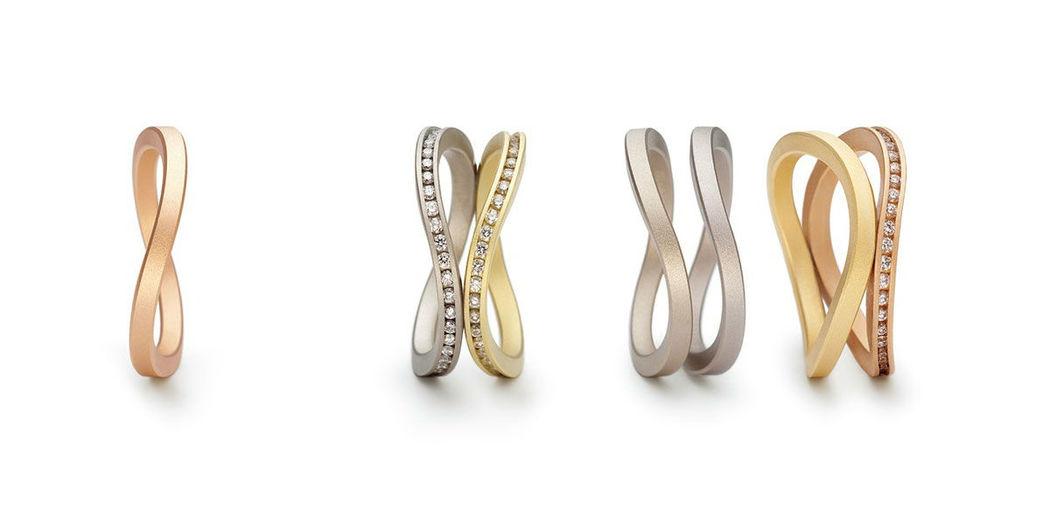 Beispiel: Kreative Formen, Foto: Juwelier Schlund.