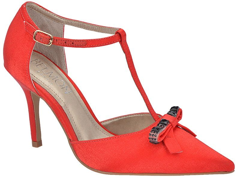 Sapato de Festa Sola Clássica Salto 9cm - Cristal Vermelho/Personalize cor. Ref.10247