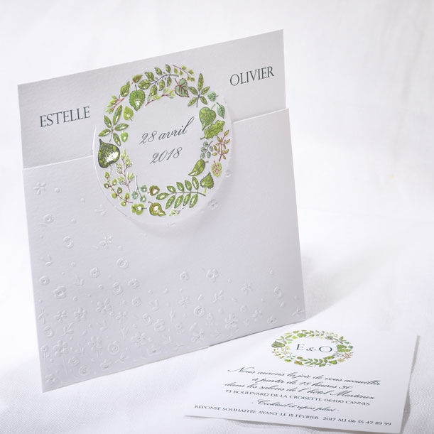 Faire-part Mariage Collection Duo 2016 www.fairepartselection.fr