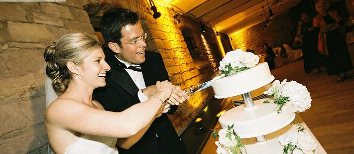 Beispiel: Ihre individuelle Hochzeitstorte, Foto: L'arrangement.