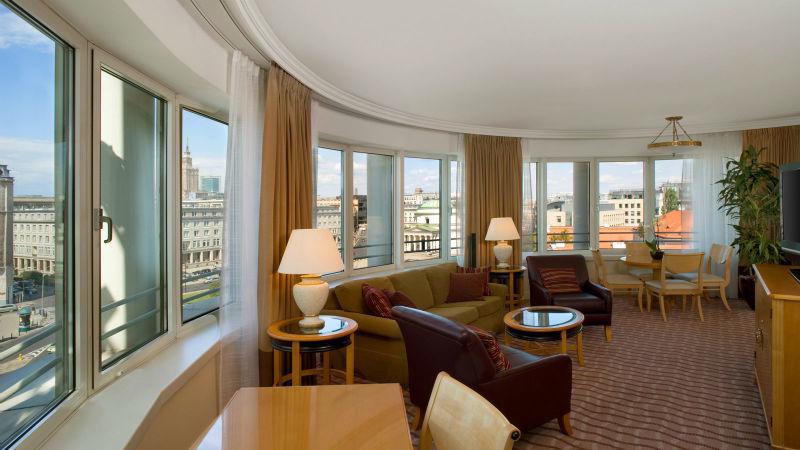 Pokój hotelowy Hotelu Warsaw Sheraton