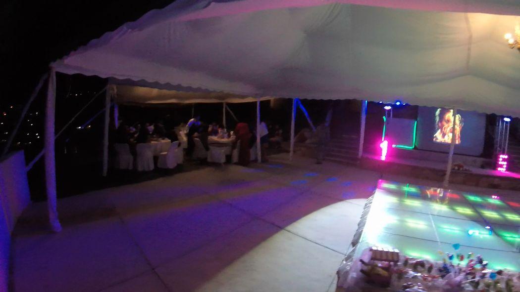Jardín La Terraza Hotel Guanajuato DJ Boda