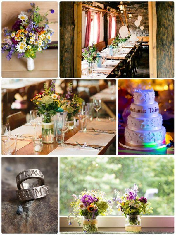 Beispiel: Hochzeitstorte / Floristik, Foto: factsandfeeling.