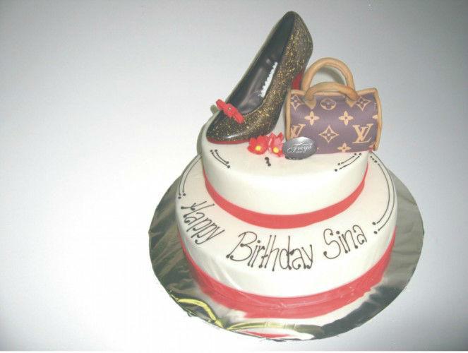 Beispiel: Geburtstagstorte, Foto: Confiserie Freya.