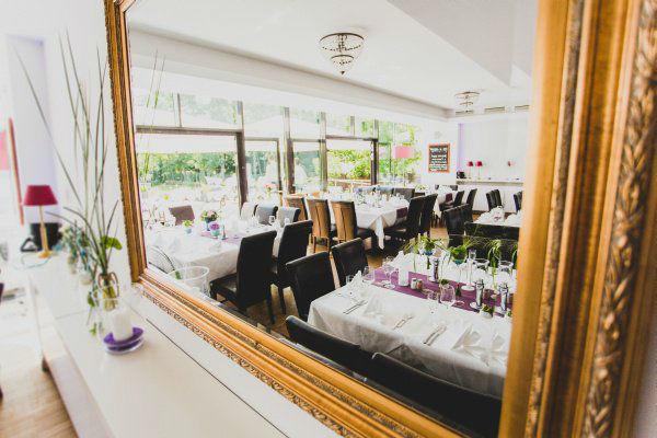 Beispiel: Innenraum - Bankett, Foto: Hotel Restaurant Seeterrassen Wandlitzsee.