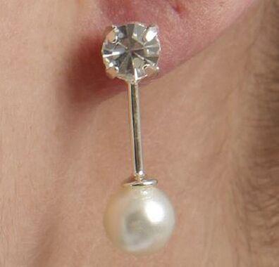 Bijou Bonheur Boucles d'Oreilles Perles de mariée accessoires Mariage
