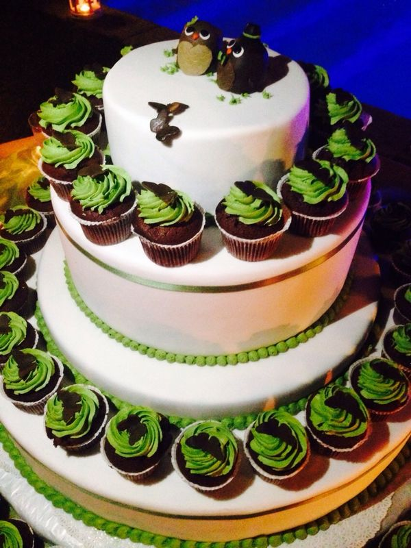 wedding cake - cake design -cupcakes
