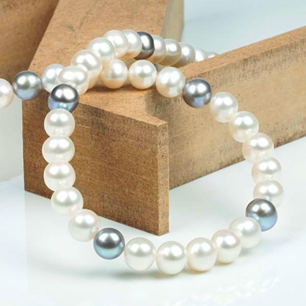 Beispiel: Perlenkette, Foto: Shogold.