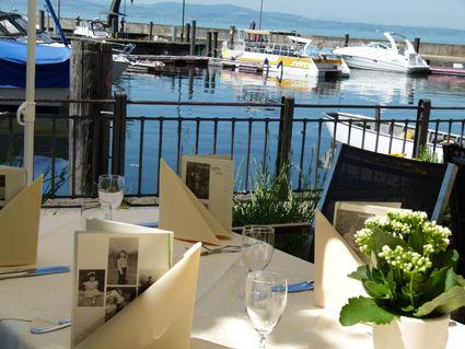 Beispiel: Terrasse mit Ausblick, Foto: AKZENT Hotel Löwen.