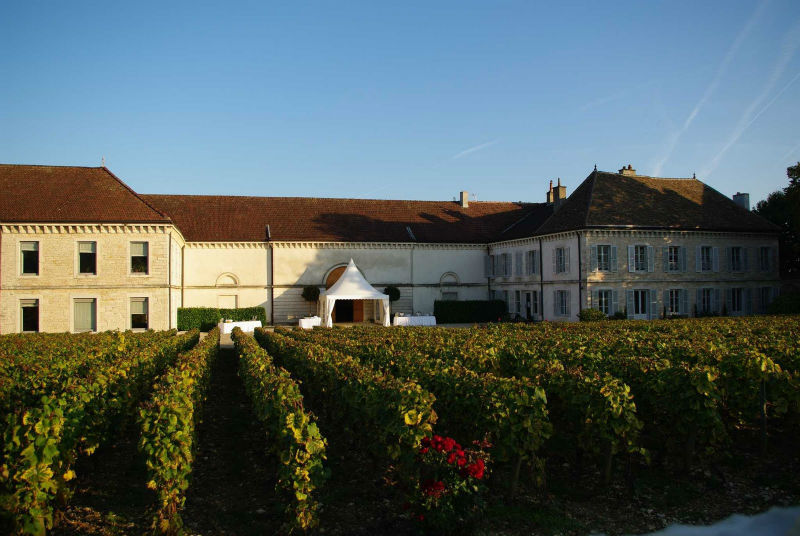 Belle soirée en perspective au Château de Chassagne-Montrachet