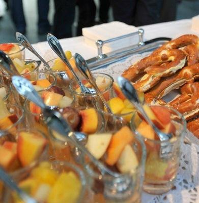 Beispiel: Reichhaltiges Buffet, Foto: München Catering.