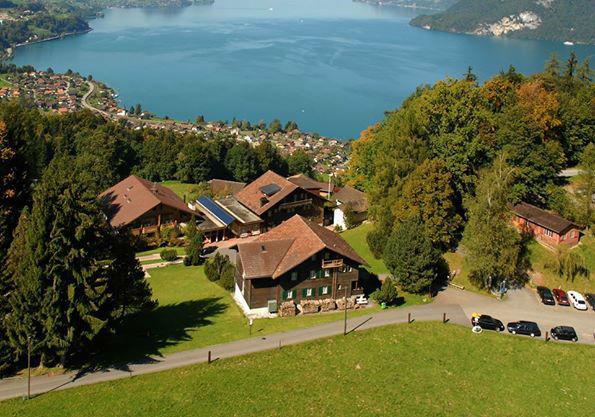 Beispiel: Luftfoto vom Hotel, Foto: Hotel Restaurant Meielisalp.