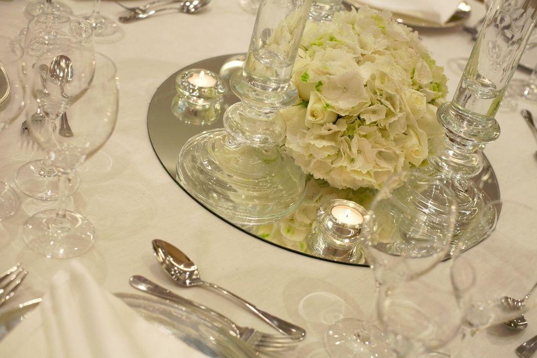 Detalhe Banquete de Casamento