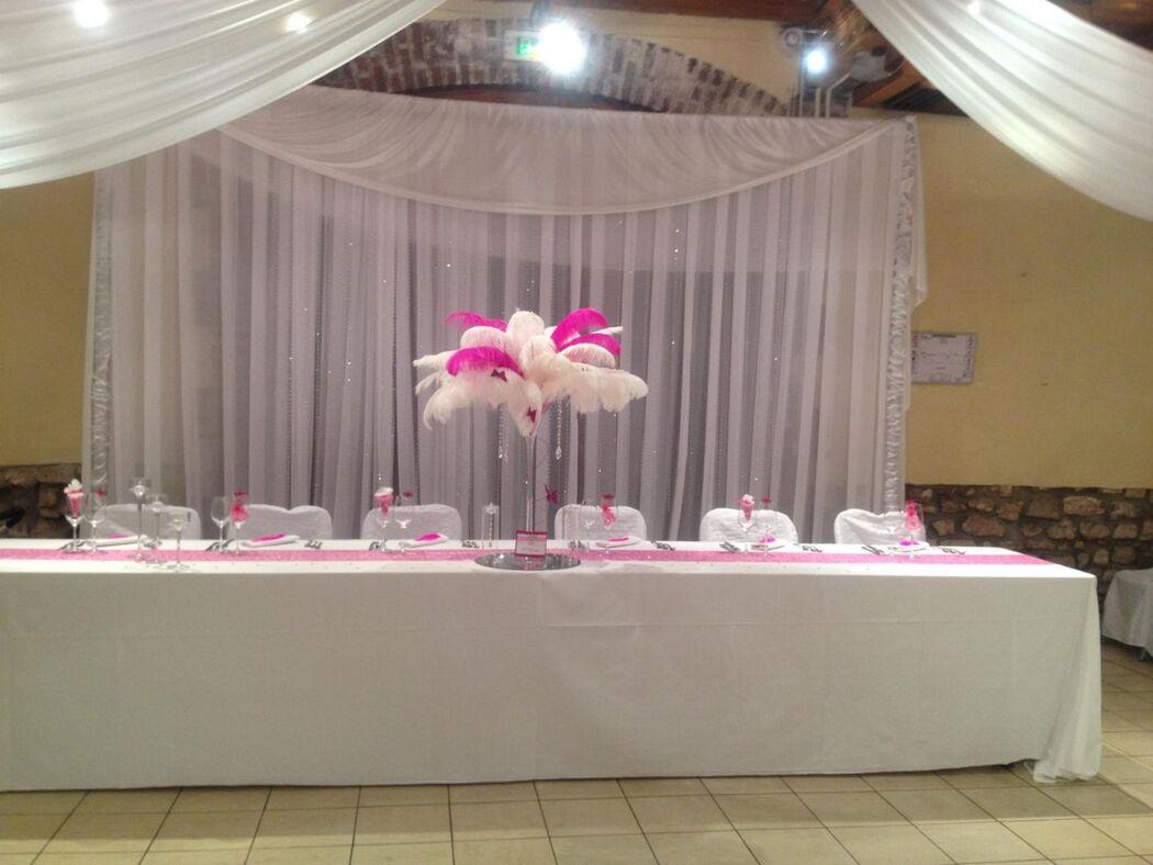 backdrop table d'honneur