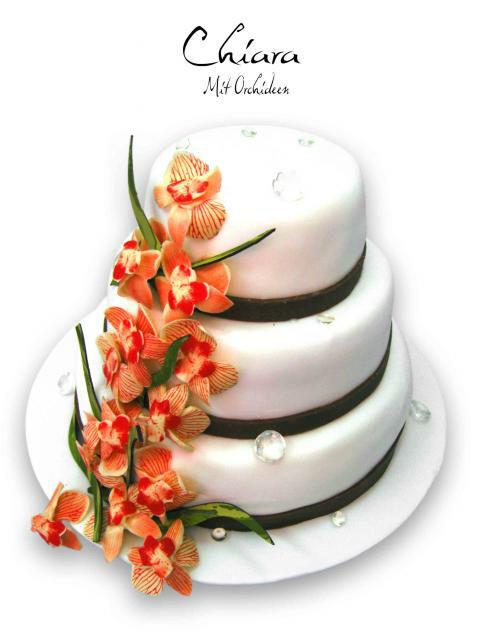 Beispiel: Hochzeitstorte, Foto: HochzeitsTraum Cafe Gude.
