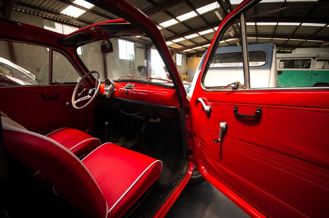 Intérieur Fiat 500