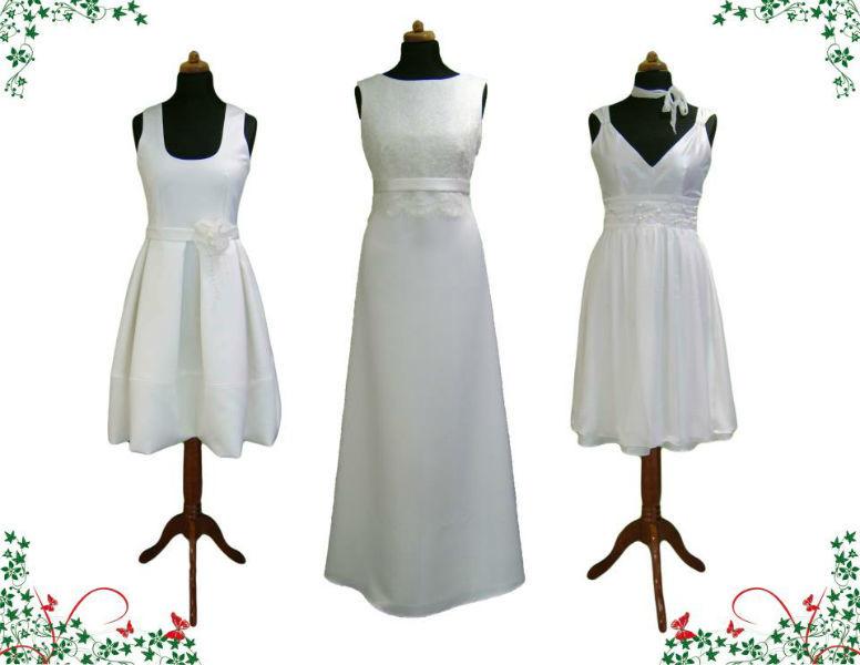 Beispiel: Brautkleider, Foto: Orangejus Couture.