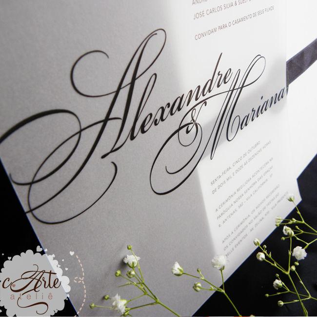 Convite Elegance