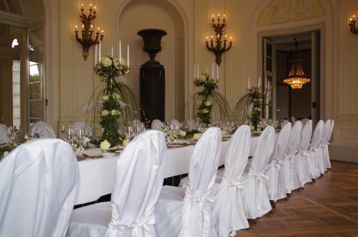 Beispiel: Hochzeitstafel, Foto: Schlosshotel Monrepos.