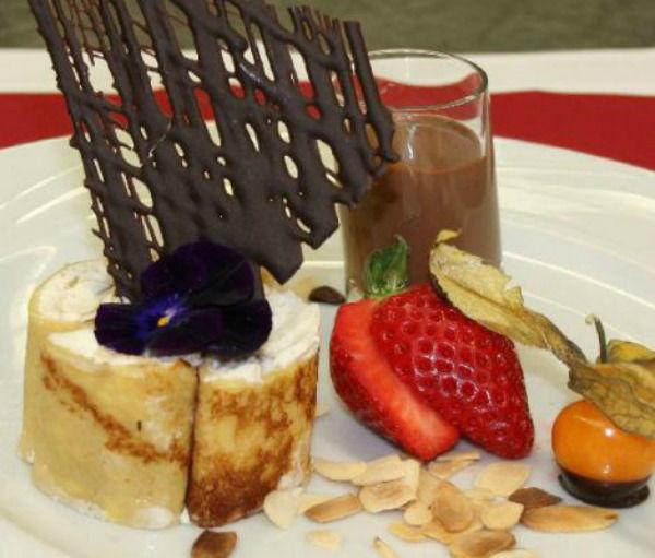 Beispiel: Nachtisch, Foto: Hoffmann Gastronomie & Catering.