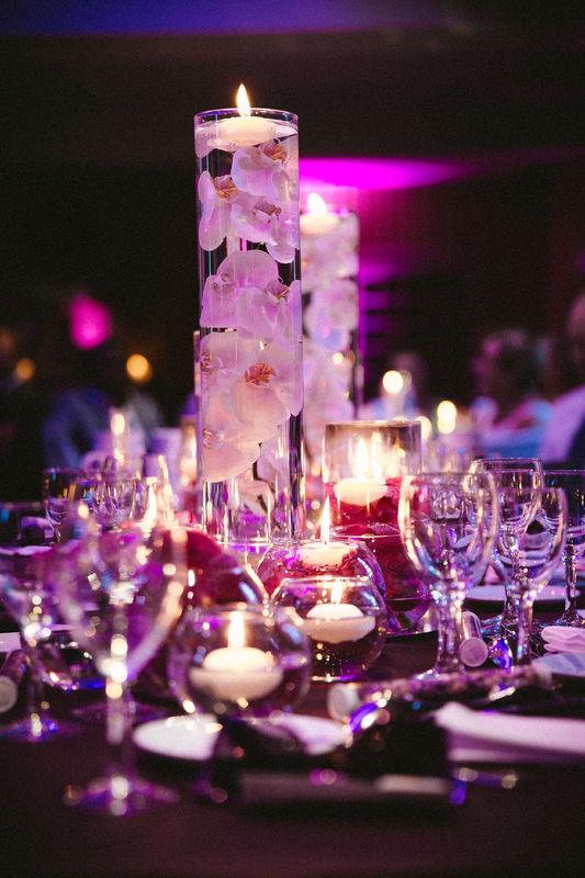 Une décoration de tables tout en hauteur