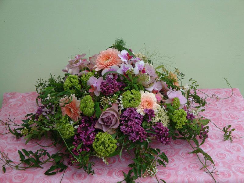 Beispiel: Blumengestecke, Foto: Blütenreich.