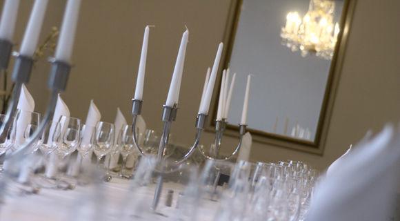 Beispiel: Tischdekoration, Foto: Schlosshotel Bad Wilhelmshöhe.