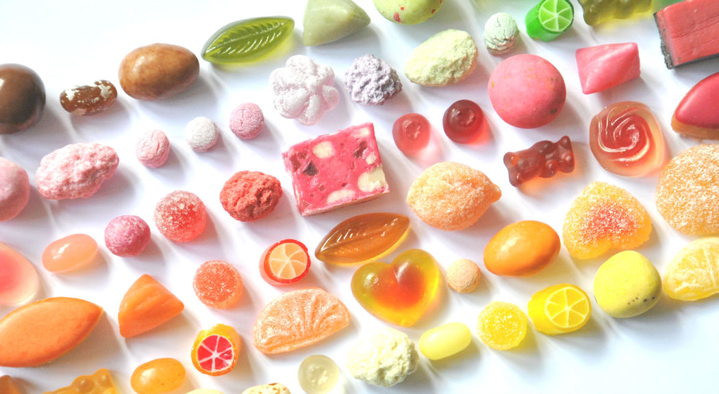 Candy Chéri, variétés de bonbons