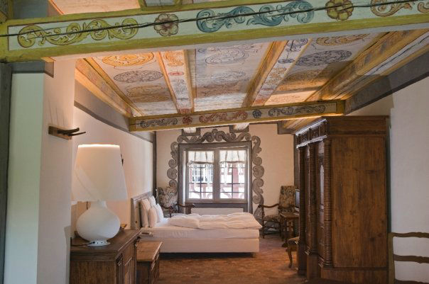 Beispiel: Impression der Zimmer, Foto: Gasthof Hirschen.