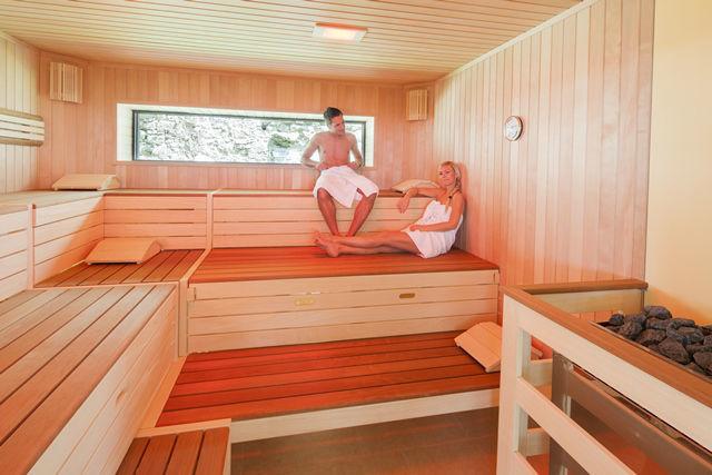 Beispiel: Sauna, Foto: Burg Kreuzen.