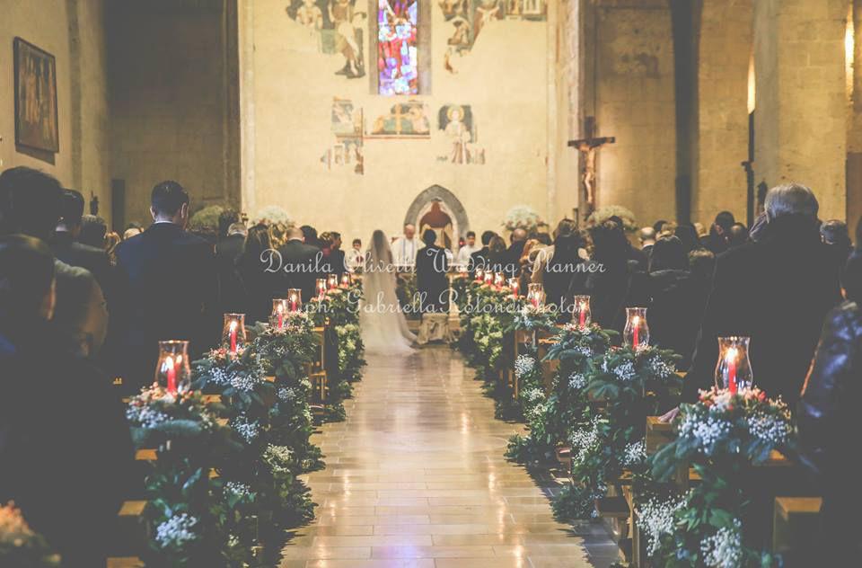 Danila Olivetti - winter wedding addobbo chiesa